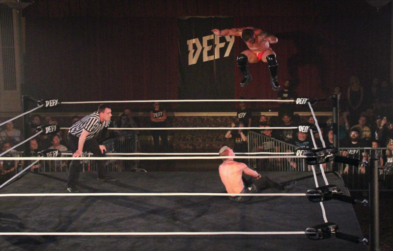 Defy Wrestling At Temple Theatre 253 Now